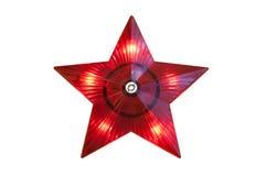 Star on the Christmas tree Stock Photos