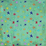 Star circus carnival holiday abstract pattern on grunge scratched background. Star circus carnival holiday abstract pattern on grunge scratched royalty free illustration