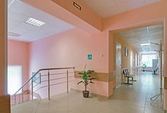 Star City hospital interior Stock Image
