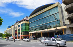 Star City Mall building at Kota Kinabalu city centre, Sabah, Malaysia stock photo