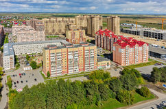 Star City residential complex. Tyumen. Russia Stock Photos