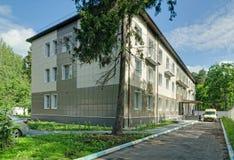 Star City sjukhusbyggnad Arkivfoto