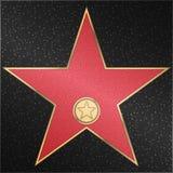 Star, clássico, filme, câmera, vetor Fotografia de Stock