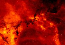 Star Clusters, Rosette Nebula, Star Royalty Free Stock Images