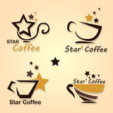 Star Coffee Stock Images