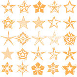 Star Collection Stock Image
