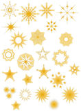 Star Collection Stock Images