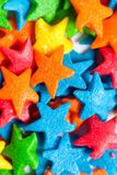 Star colorful candies Royalty Free Stock Photos