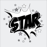 Star comic Stock Images