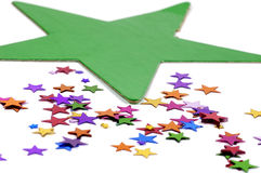 Star Confetti Royalty Free Stock Photos