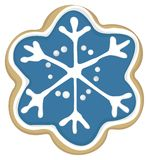 Star cookie. Illustration of a Christmas star cookie vector illustration