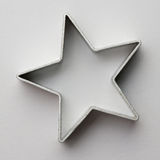 Star cookie cutter Stock Photos