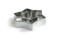 Star cookie cutter stock photography