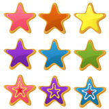 Star cookies Stock Photography