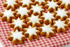Star cookies Stock Images