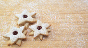 Star Cookies Stock Photo