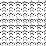 Star cover tile fabric pattern background vector illustration design Abstract wallpaper Royalty Free Stock Images