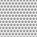 Star cover tile fabric pattern background vector illustration design Abstract wallpaper Stock Images
