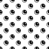 Star and crescent islam symbol pattern Stock Images