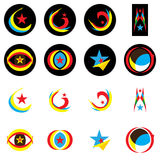Star Logo Set_eps Stock Photos