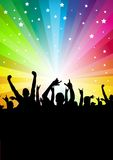 Star Crowd Background Royalty Free Stock Photo