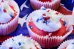 Star cupcakes Royalty Free Stock Photos
