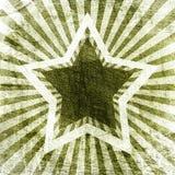 Star on dark grunge background Stock Photo