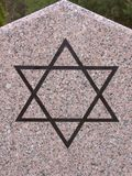 Star of David. On monument stock images