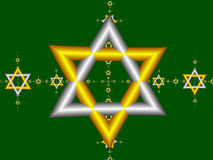 Star of David 1 Royalty Free Stock Images