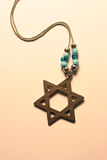 Star of David. Macro royalty free stock photography