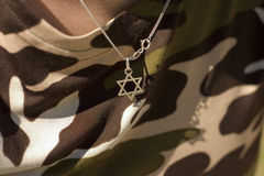 The Star of David Royalty Free Stock Images