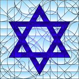 Star of David Royalty Free Stock Photo