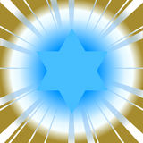 Star of david Royalty Free Stock Image