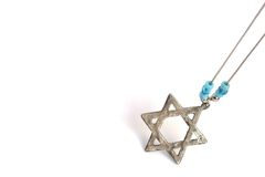 Star of David. Silver star of David stock photos