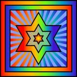 Star of David vector illustration