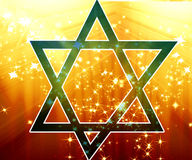Star of david stock illustration