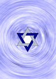 Star of david background Royalty Free Stock Image