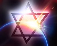 Star of david Royalty Free Stock Images