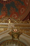 Star of David Budapest Synagogue Royalty Free Stock Images
