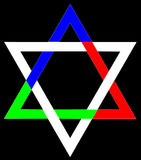 The Star of David Stock Photography