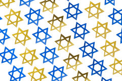 Star of David design; Hannukah Stock Images