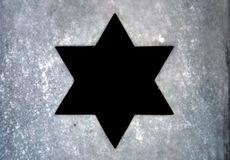 Star of David Royalty Free Stock Photo