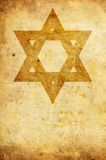 Star of David grunge Royalty Free Stock Images
