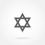 Star of David, Icon Stock Image