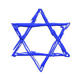 Star of David illustration Stock Photography