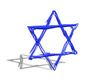 Star of David illustration Stock Photos