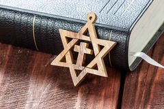 Star of David. Royalty Free Stock Images