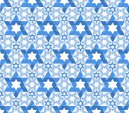 Star of David pattern Royalty Free Stock Photos