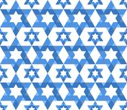 Star of David pattern Royalty Free Stock Image