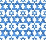 Star of David pattern Royalty Free Stock Image